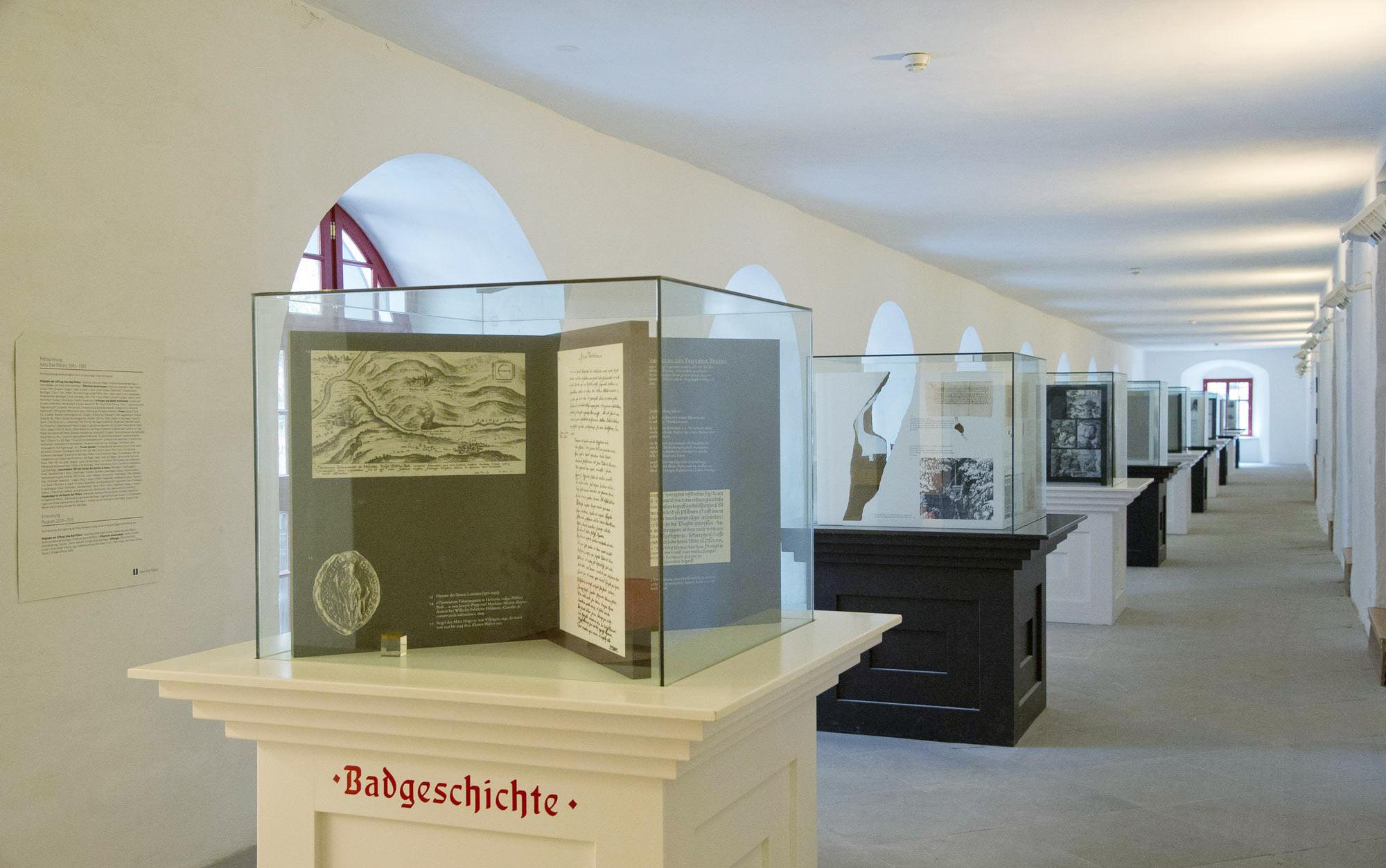 museum badgeschichte altes bad pf fers. Black Bedroom Furniture Sets. Home Design Ideas